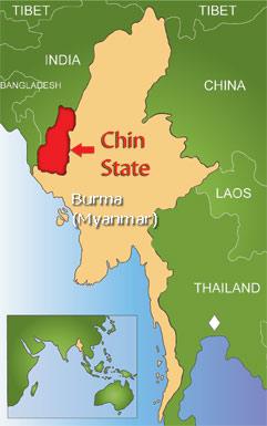 Chin State in Burma